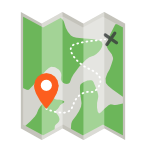 camping icon collection 1 mapa