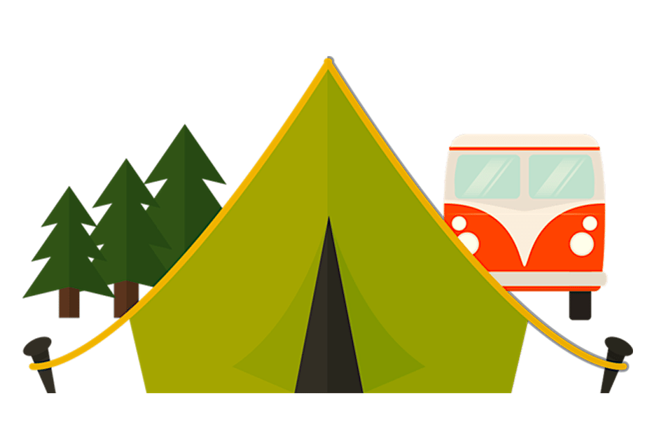 camping barraca kombi