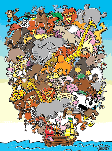 cc zoo load of animals